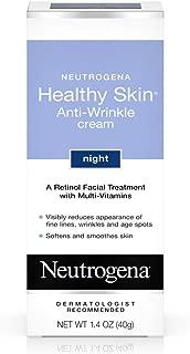 Neutrogena Healthy Skin Anti-Wrinkle Cream Night 1.40 oz (Pack of 3)