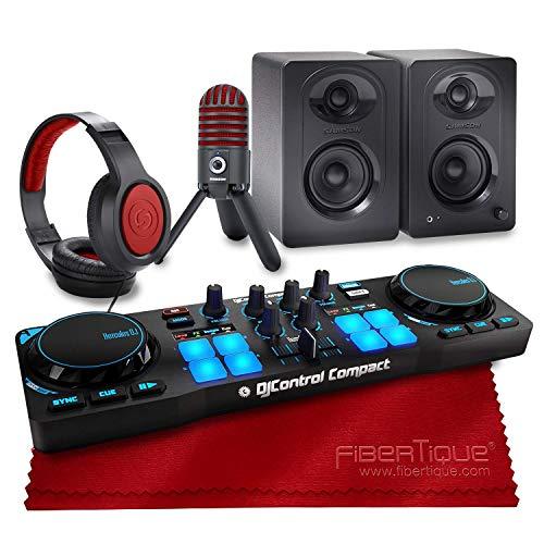 Best Deals! Hercules DJControl Compact Controller for Serato DJ Software + Speakers + Headphones + D...