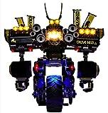 QZPM Kit di Illuminazione A LED per Lego Ninjago Robot Tellurico, Compatibile con Il Modello Lego 70632 Mattoncini da Costruzioni - Non Include Il Set Lego