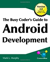 Best busy coder's guide to android development Reviews