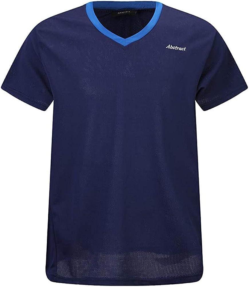 Abstract Boys Rash Guard Short Sleeve Mesh T-Shirt Swimsuit Sportswear - Kids - Youth