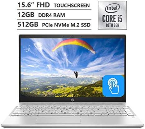 HP Pavilion Laptop 15 6 Full HD IPS Micro Edge Touchscreen 10th Gen Intel Core i5 1035G1 Processor product image