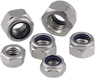 RH Grade 8 Steel Nylon Insert Locknuts 75 Pcs 1//4-20 Thread x 7//16 W x 5//16 H
