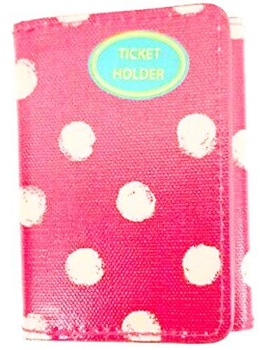 Cath Kidston Soporte para billetes con tres pliegues, color rosa