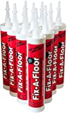 Fix-A-Floor Loose Tile Repair Adhesive Box of 12-10.1 oz. TubesTip Fits Into All Grout Lines Narrow or Wide