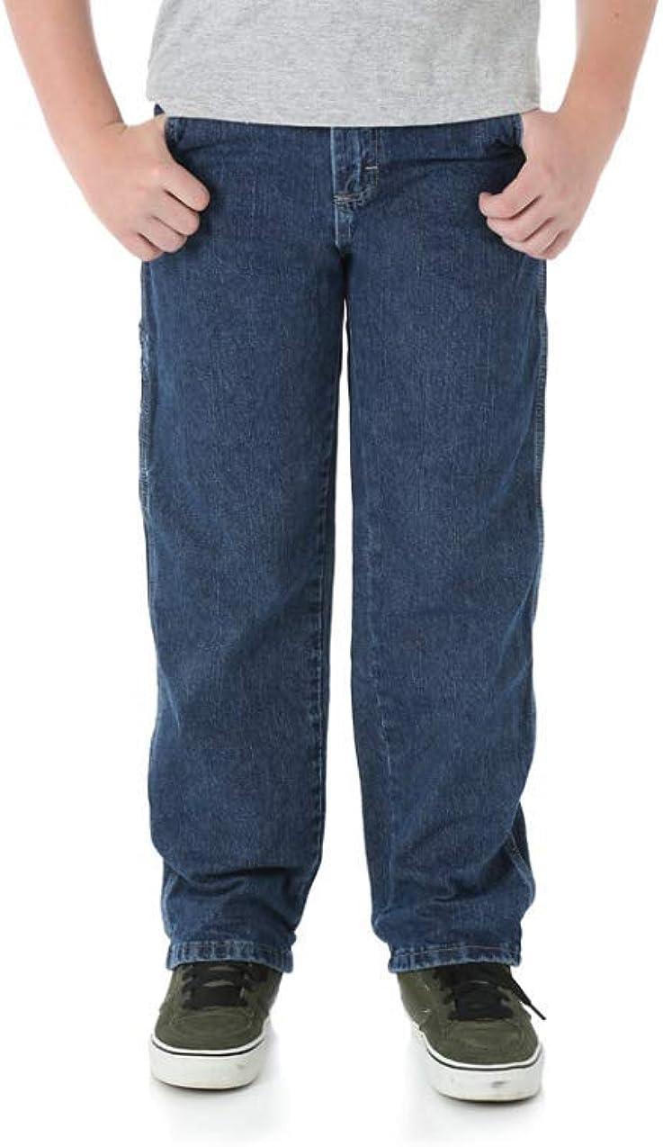 Wrangler Husky or Regular Relaxed Straight Carpenter Jean