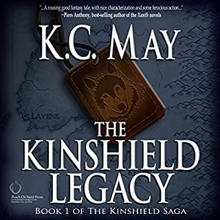 The Kinshield Legacy     The Kinshield Saga, Book 1              By:                                                                                                                                 K.C. May                               Narrated by:                                                                                                                                 Lee Alan                      Length: 14 hrs and 13 mins     1 rating     Overall 5.0