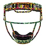 Schutt Fielder's Guard Softball Face Mask for Fast Pitch Softball, Aztec, Youth