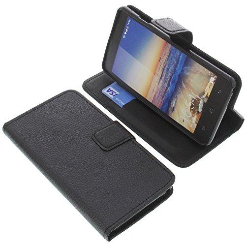 foto-kontor Tasche für Hisense U972 Pro U972 Book Style schwarz Schutz Hülle Buch