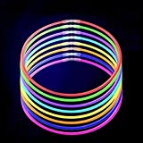 Lumistick 50 20' Brand Glow Stick Necklaces Assorted Colors