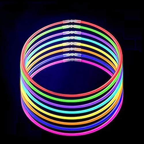 "Lumistick 50 20"" Brand Glow Stick Necklaces Assorted Colors"