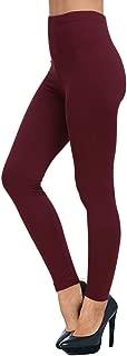 AUSELILY Women's High Waist Soft Leggings Comfortable Slim Leggings Pants