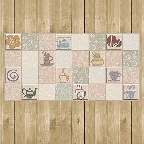TFjXB DIY Wandtattoo & Wanddeko Aufkleber, selbstklebend Wall Stickers Decal,Badezimmer Flur Wohnzimmer Schlafzimmer Sticker Aufkleber, Kaffee Heißgetränk Blume gemahlener Aufkleber Farbe 58x116cm