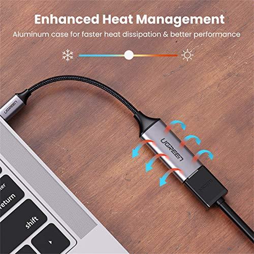 UGREEN USB C HDMI Adapter 4K@60Hz Typ C zu HDMI Adapter Thunderbolt 3 USB-C auf HDMI Adapter kompatibel mit MacBook Pro 2020, MacBook Air 2019, iPad Pro 2020, Dell XPS 13 usw.