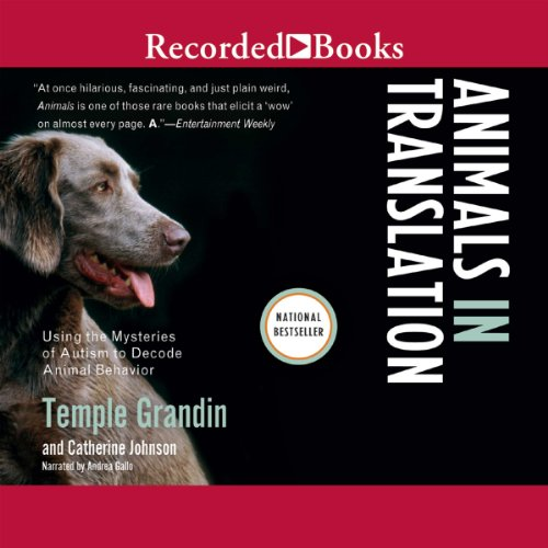Animals in Translation audiobook cover art