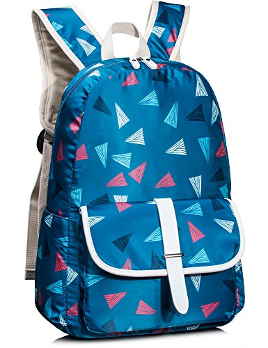 Leaper lässige Rucksack mädchen Schulrucksack Kinderrucksack Daypack für Reise Schule Freizeit