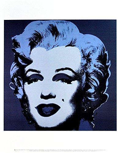 Germanposters Andy Warhol Marilyn Monroe 1967 - Póster (36 x 28 cm), color negro
