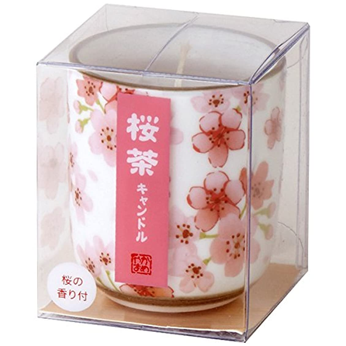ポジティブサスティーン文字通り桜茶キャンドル(小) 86580010