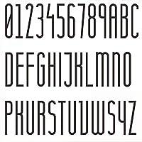 1ピース3Dフローティングハウスプラーク番号0-9ドア文字A-Z矢印サインアクリル数字サイン、8/10cmブラック、屋外防水防錆耐久性ホームホテルドアプレート