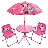 Fun House 712687 DISNEY MINNIE Salon de jardin pour enfant avec 1 table, 2 chaises et...