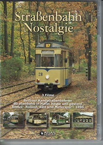 Editions Atlas DVD Straßenbahn-Nostalgie – Drei Filme