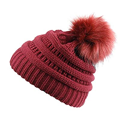 Amazon - Save 30%: Soft Winter Slouchy Beanie Cap for Women Chunky&Warm Cable Knit…