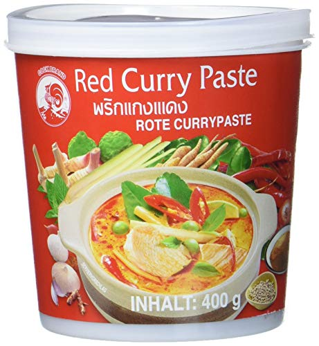 Cock Currypaste Rot 400 G