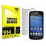 actecom® Protector DE Pantalla Compatible con Samsung Galaxy Trend 2 Lite Cristal Vidrio Templado