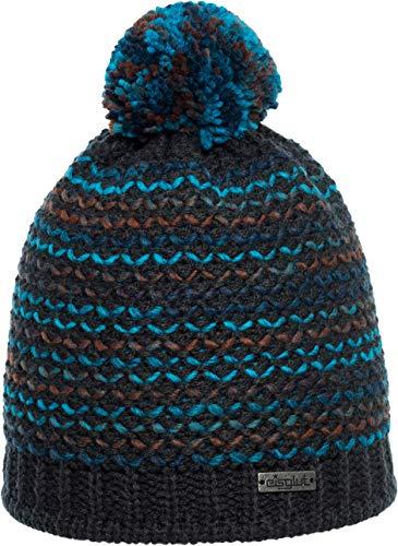 Eisglut Lumi Bonnet Femme, Graphite, M 57-58cm