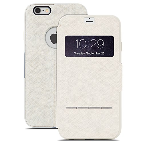 Moshi SenseCover - Carcasa para Apple iPhone 6/6s, color beige