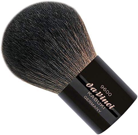 da Vinci Cosmetics Series 9600 Kabuki Powder Brush Round Natural Hair with Black Freestanding product image