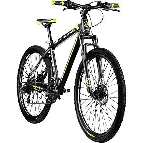 Galano 29 Zoll MTB Toxic/Pulse Mountainbike Scheibenbremsen Shimano Tourney (schwarz/grün)