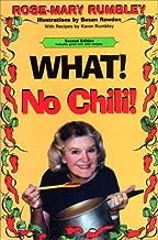 What! No Chili!