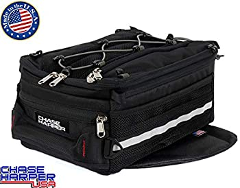 Chase Harper USA 800 Magnetic Tank Bag - Water-Resistant Tear-Resistant Industrial Grade Ballistic Nylon with Anti-Scratch Rubberized Polymer Bottom Super Strong Neodymium Magnets