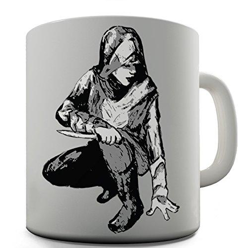 Twisted Envy Assassin disegnati a mano in ceramica a forma di tazza