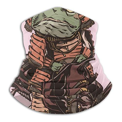 Shingen Général Frog Ride Hercules Coccinelle Cache-cou en polaire confortable Guêtres pour le visage pour le froid, l'hiver, les sports de plein air