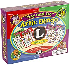 """Super Duper Publications   Say and Do Artic Bingo Sound Game Letter """"L""""   Educational Learning Resource for Children   Speech Therapy   Articulation"""
