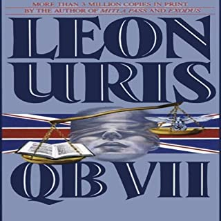 QB VII audiobook cover art