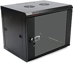 Server rack cabinet 19 inch 6U 600x450x370mm wallmount SOHORack by RackMatic