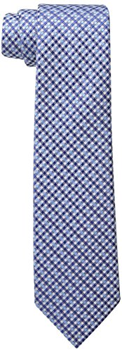 Wembley Big Boys Grenoble Check Tie, Blue, One Size