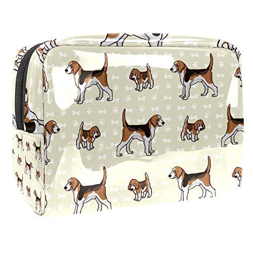 Trousse de toilette multifonction pour femme Motif chien Boxer