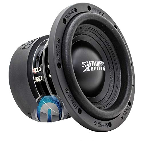 "SUNDOWN AUDIO SA-12 V.2 D4 12"" Dual 4 OHM 1000W RMS SUBWOOFER BASS Speaker New"