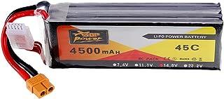 KINGDUO Power 14.8V 4500mAh 4S 45C Lipo Batterie XT60 Plug