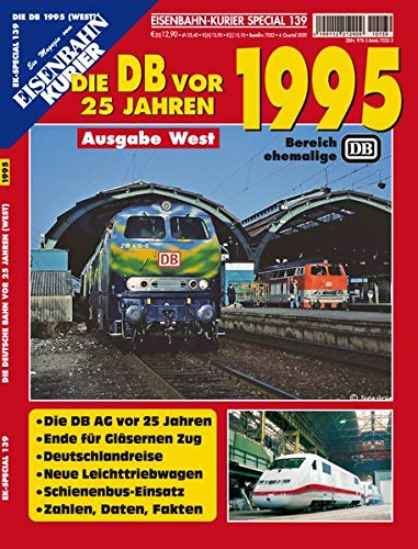 [画像:EK-Special 139: Die DB vor 25 Jahren - 1995 Ausgabe West]