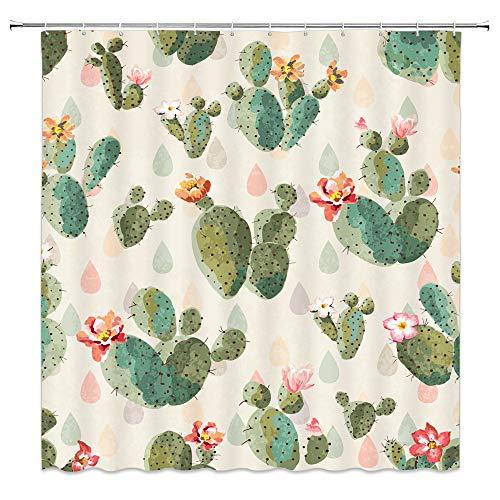 Cactus Shower Curtain Mexican Texas Cactus