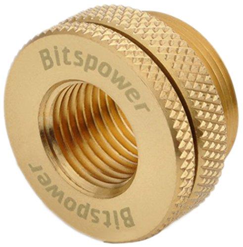 """Bitspower G1/4"""" CaseTop Water-Fill Set, True Brass"""