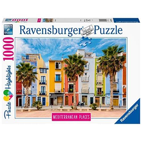 Ravensburger Puzzle, Puzzle 1000 Pezzi, Spagna, Puzzle per Adulti, Collezione Mediterranean Places, Puzzle Paesaggi, Puzzle Ravensburger - Stampa di Alta Qualità