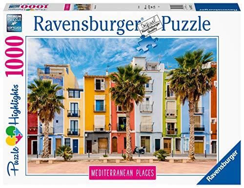 Ravensburger Puzzle 14977 - Mediterranean Places Spain - 1000 Teile Puzzle für Erwachsene und Kinder ab 14 Jahren, Puzzle mit Motiv aus Spanien