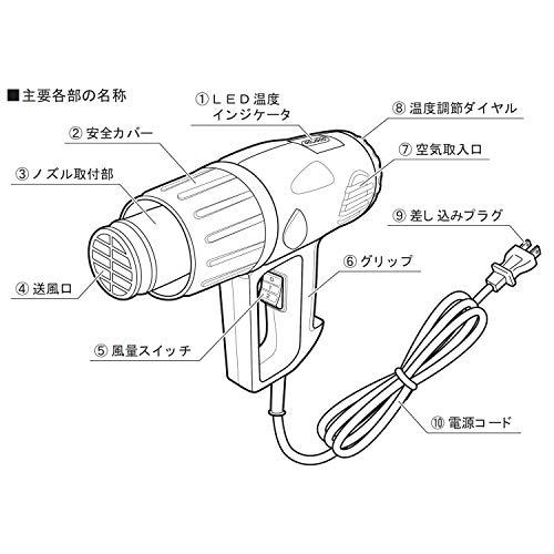 Powersonic(パワーソニック)ヒートガンセットHG-10S