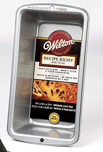 Wilton Industries 2105-950 Recette droite Medium Moule à pain antiadhésif – quantità 6